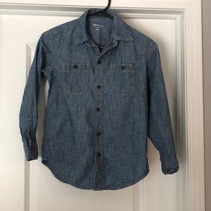 Boys Gapkids size L button down shirt